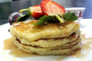 Healthy pancake recipe
