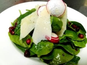 Healthy baby spinach salad recipe