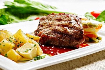 , food gallery 7-course French classical menu with wine