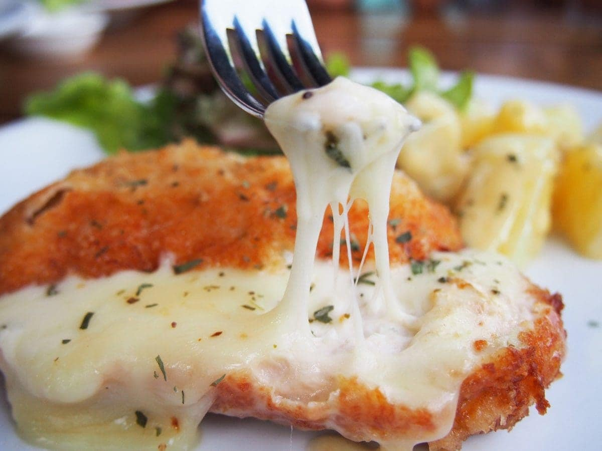 Chicken and cheese roasted