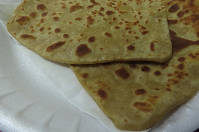 Paratha with Chicken curry recipe Homestyle