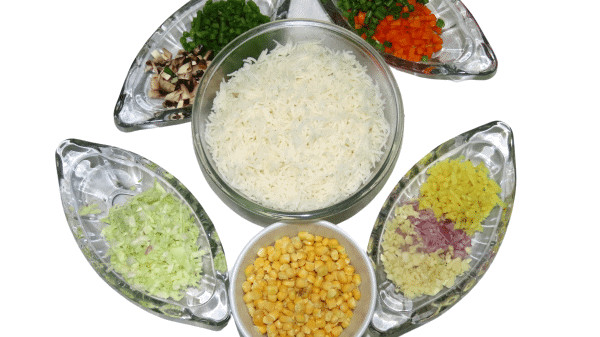 Vegetable for fried rice
