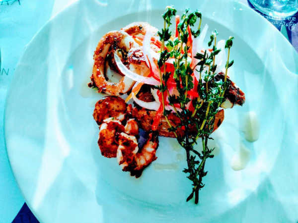 grilled seafood recipe