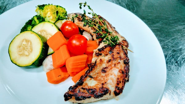 Recipe for grilled sea bass