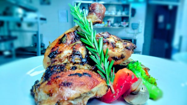 easy roasted chicken